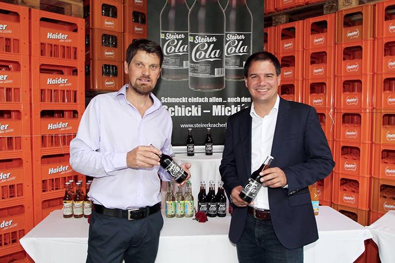 Michael Schickhofer zu Besuch – STEIRERKRACHERL – Haider Getränke GmbH